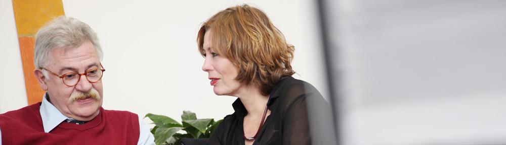 Birgit Knatz und Bernard Dodier haben die TelefonSeelsorge Deutschland als erste deutschsprachige Beratungsstelle ins Internet gebracht